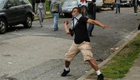 Baltimore Protest Teen