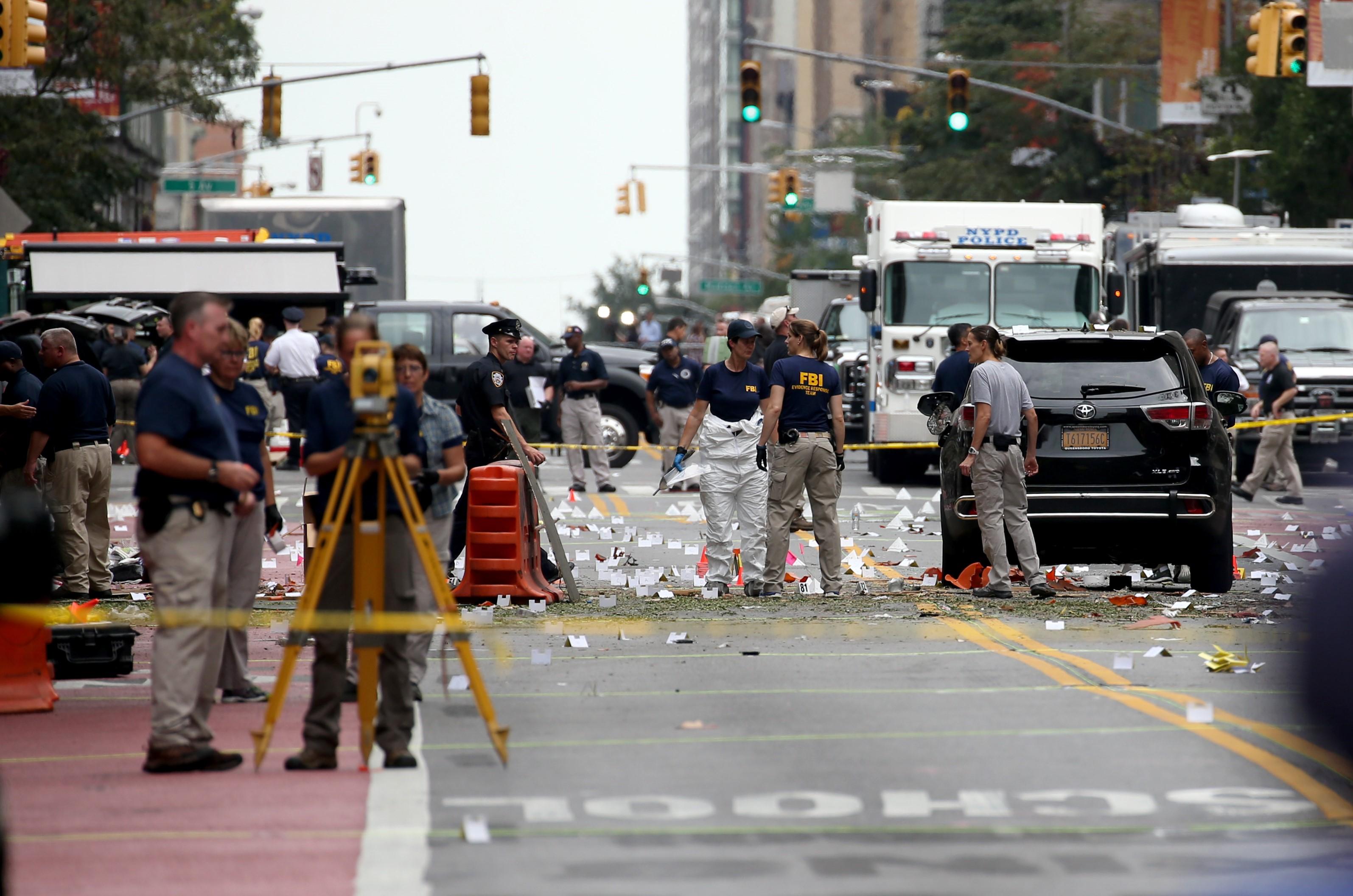 Explosion in Chelsea neighbourhood