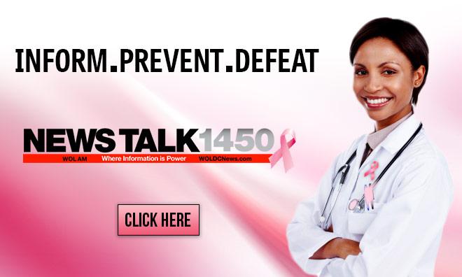 Breast Cancer Month News Talk 1450