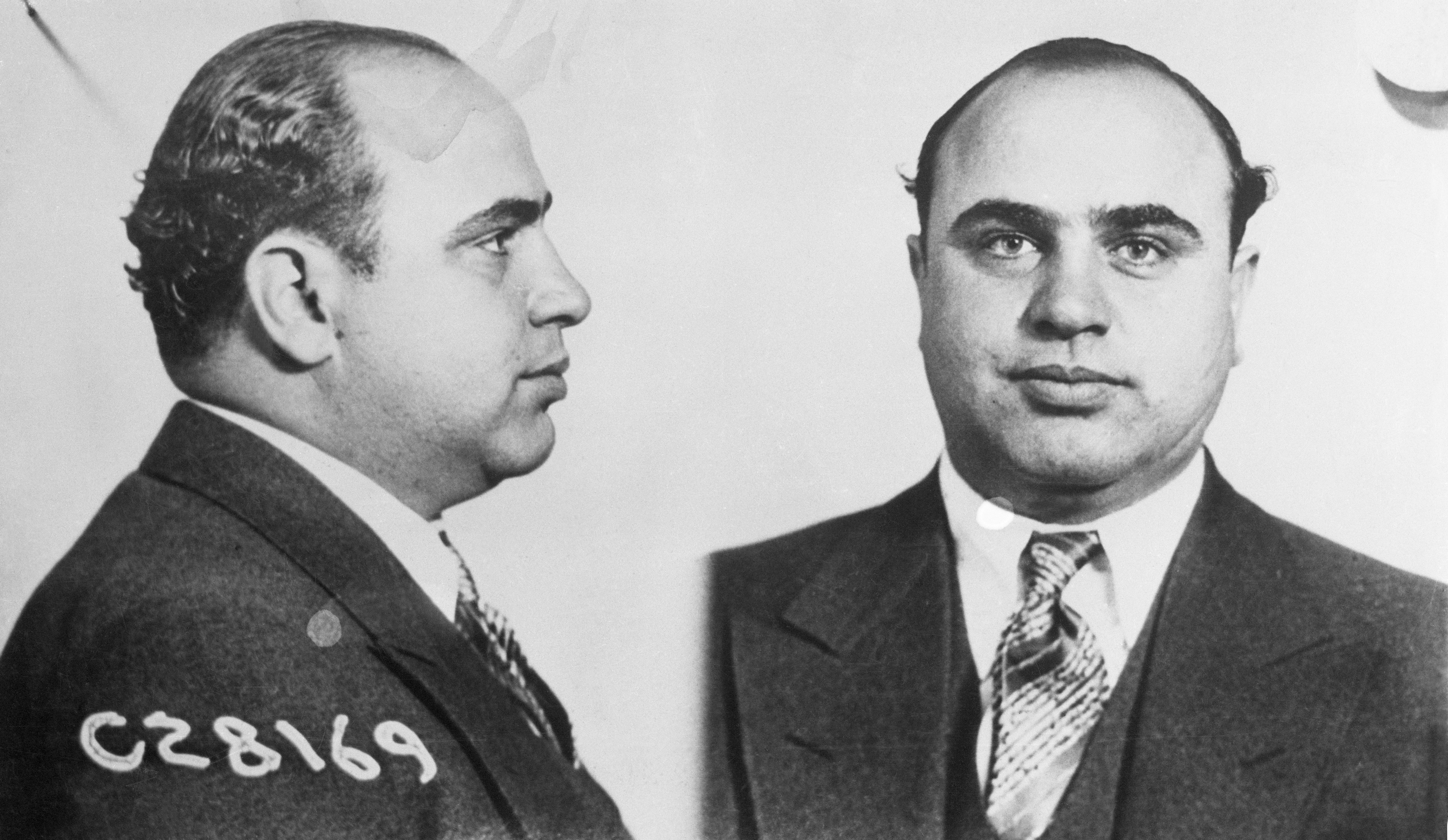Mugshot of Gangster Al Capone