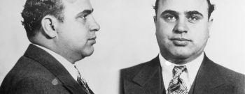 Mugshot of Gangster Al Capone