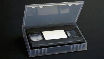 Video Cassette in Case