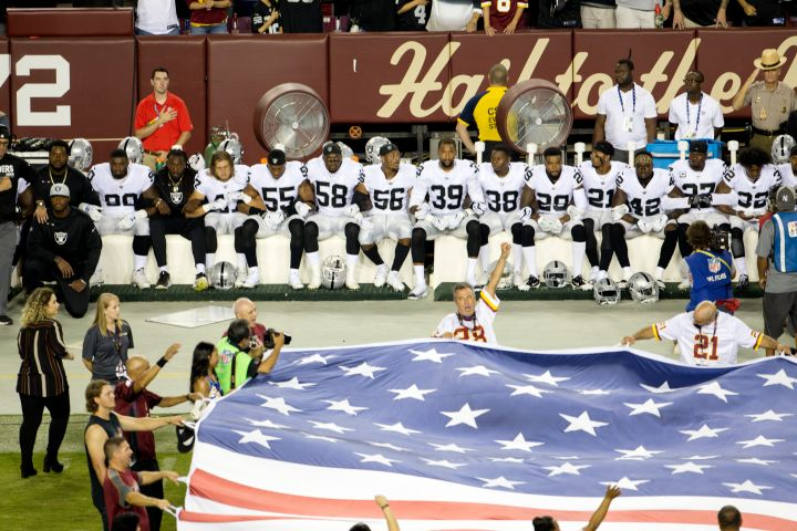 Oakland Raiders v Washington Washington Football Team