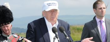 Donald Trump opens Trump Turnberry Golf Course