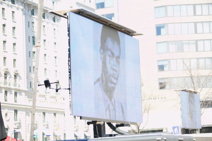Marion Barry Statue Unveiling