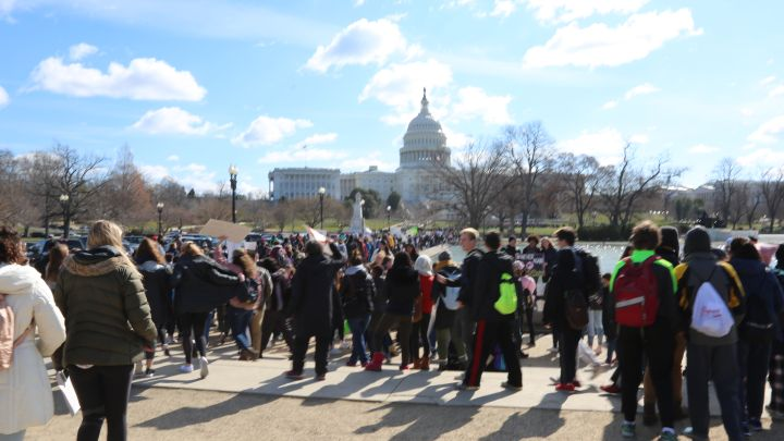 Students Protest For National Walkout Day
