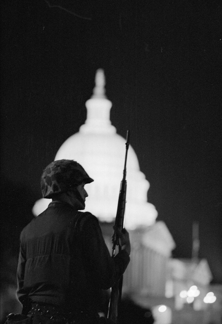 'Curfew After MLK Riots'