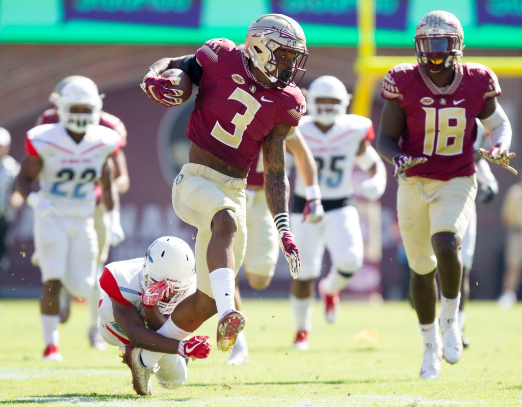 COLLEGE FOOTBALL: NOV 18 Delaware State at Florida State