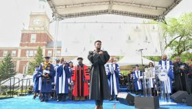 Chadwick Boseman at Howard University