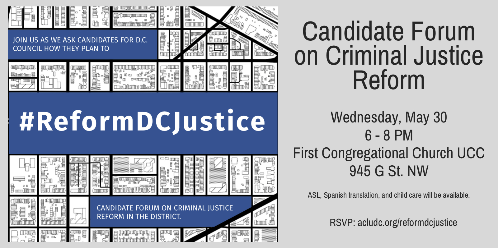 DC ACLU / DC NAACP Candidates Forum