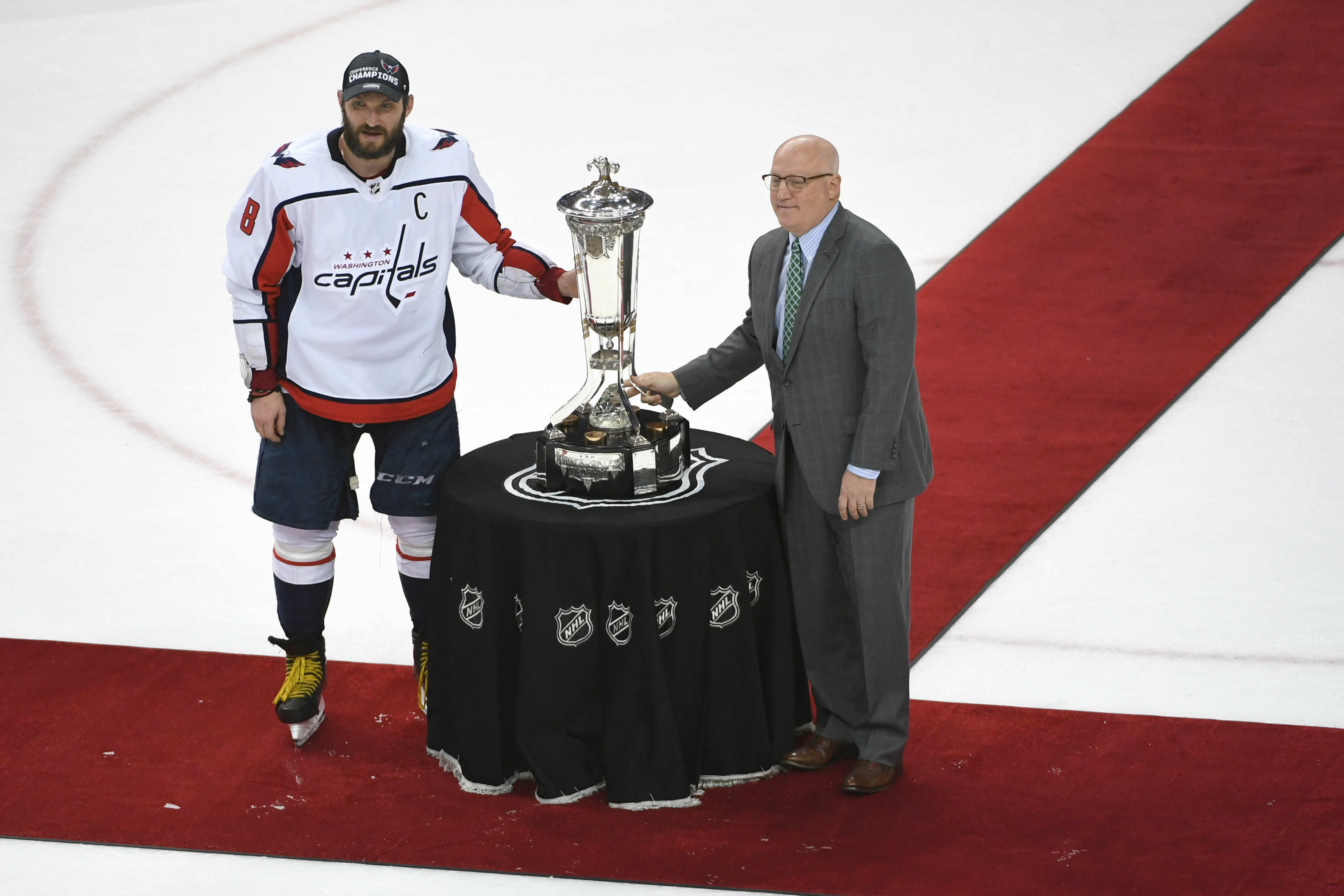 NHL Stanley Cup Playoffs: Eastern Conference finals game three. Tampa Bay Lightning at Washington Capitals.