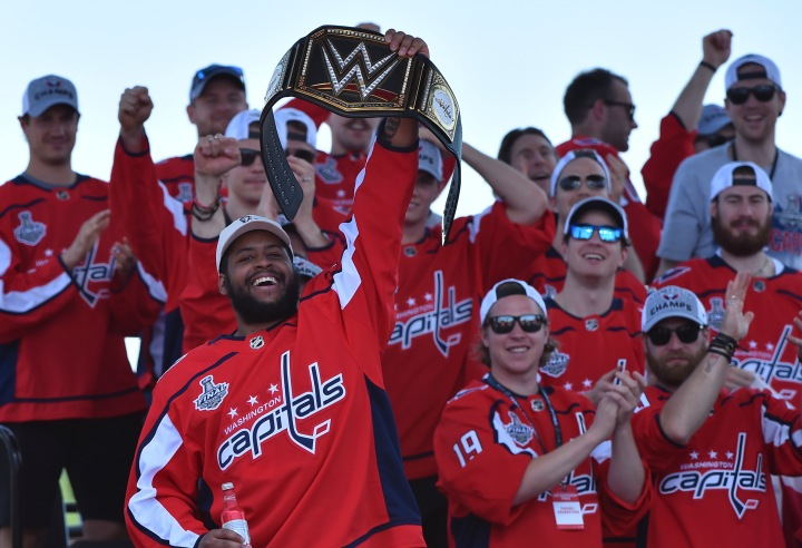Stanley Cup Champions Washington Capitals Victory Parade and Rally