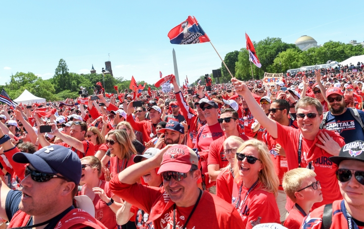Parade for the Stanley Cup Champion Washington Capitals