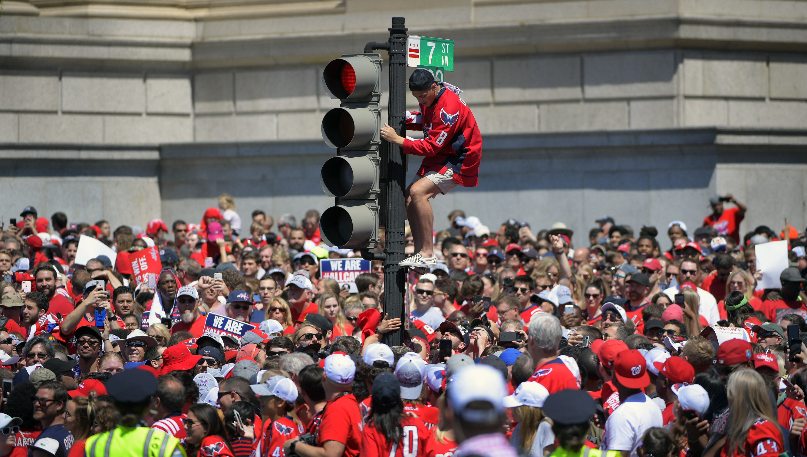The Washington Capitals Stanley Cup parade