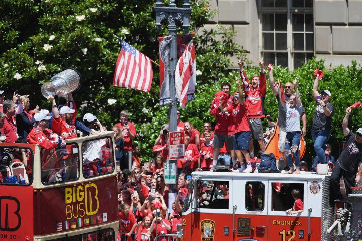 Washington Capitals Stanley Cup victory parade - Washington, DC