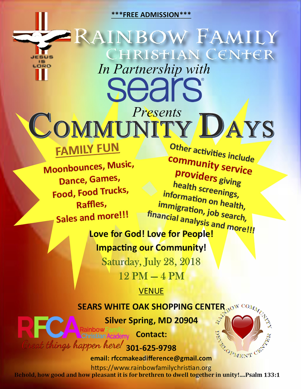 RFCC RCDC Make A Difference Flyer