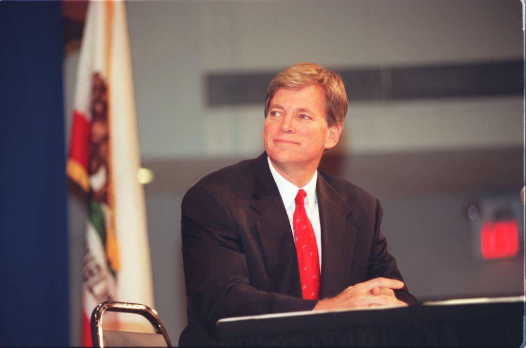 SF.Debate.#38.09.25.BV––Northridge–– David Duke, former Ku Klux Klan grand wizard during the debate
