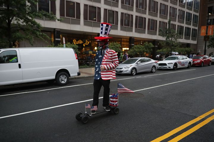 Alt Right Holds 'Unite The Right' Rally In Washington, Drawing Counterprotestors