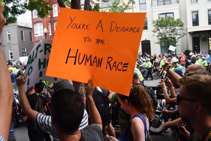 US-POLITICS-RACISM-DEMONSTRATION