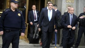 Michael Cohen Court Hearing in New York City