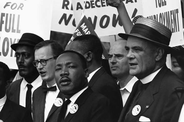 Martin Luther King, Jr. at March on Washington