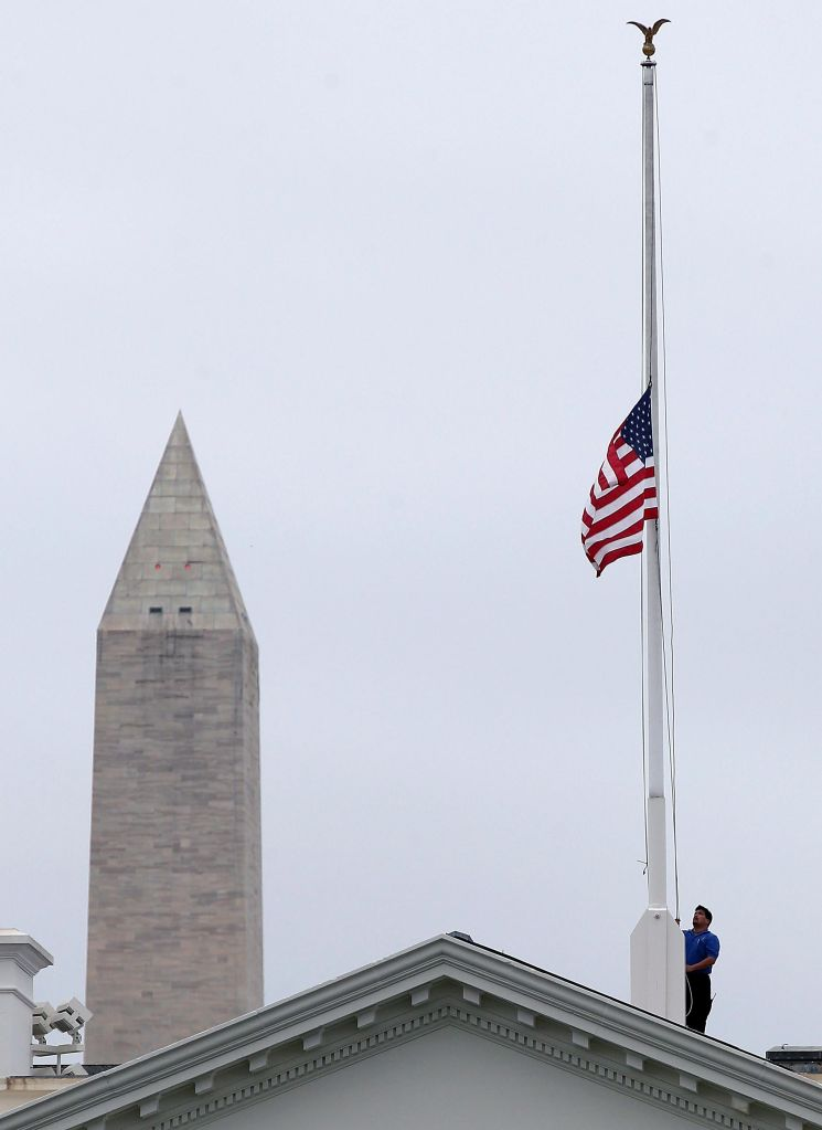 Incredible How Long Should Flags Be At Half Staff Wol Am 1450 Download Free Architecture Designs Scobabritishbridgeorg