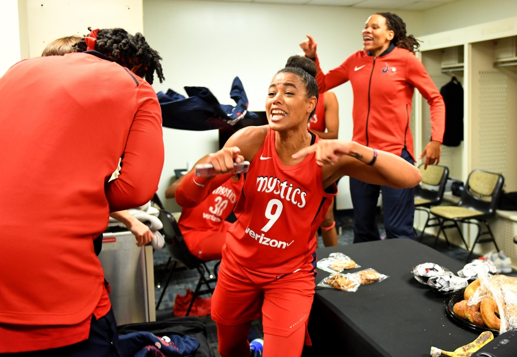 WNBA conference finals game 5 - Washington Mystics play Atlanta Dream