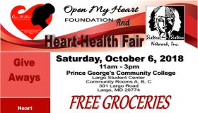 Free Heart Health Fair and Groceries
