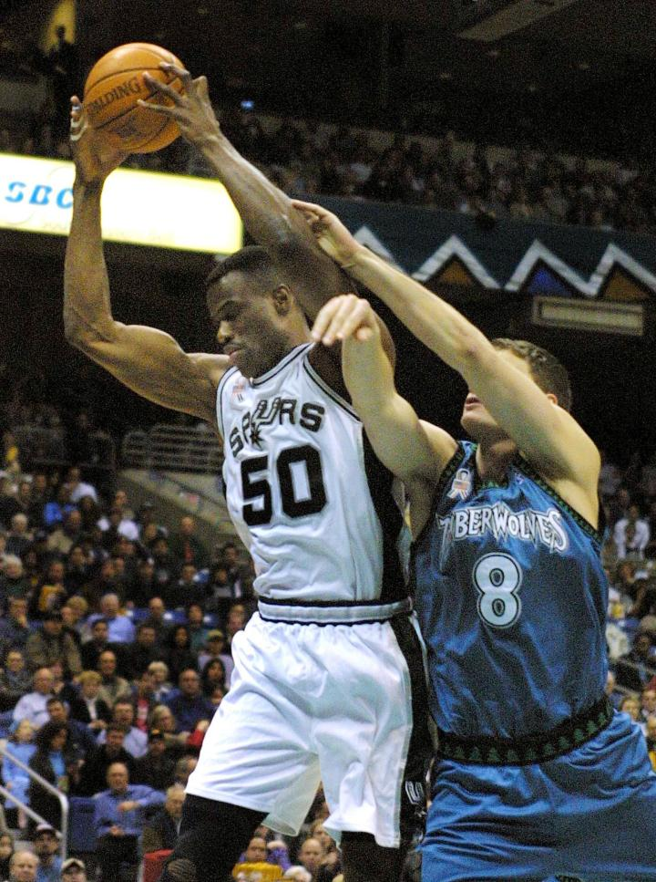 San Antonio Spurs Hall Of Fame Center David Robinson