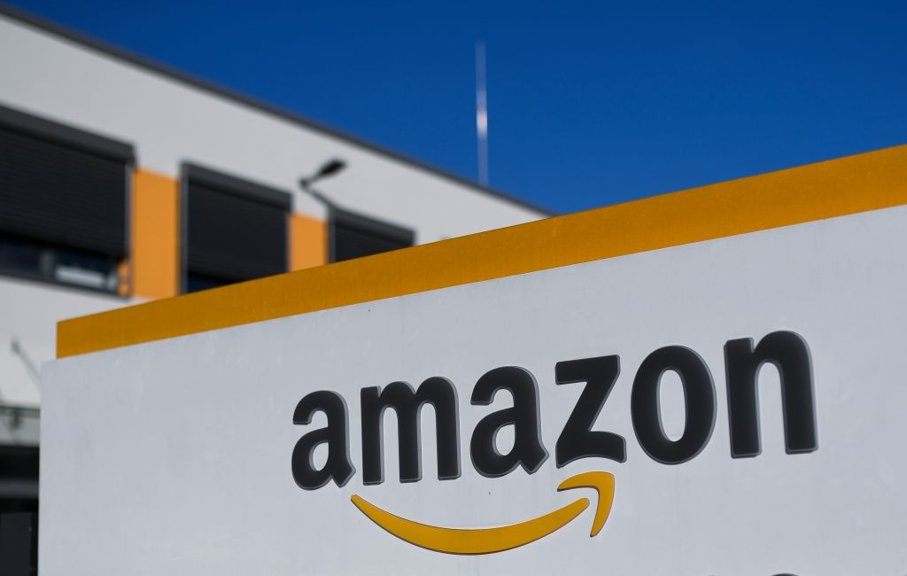 Amazon logistics centre in Dortmund