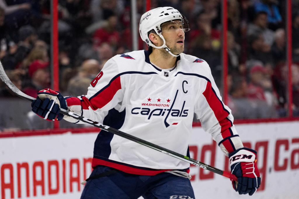 NHL: DEC 29 Capitals at Senators
