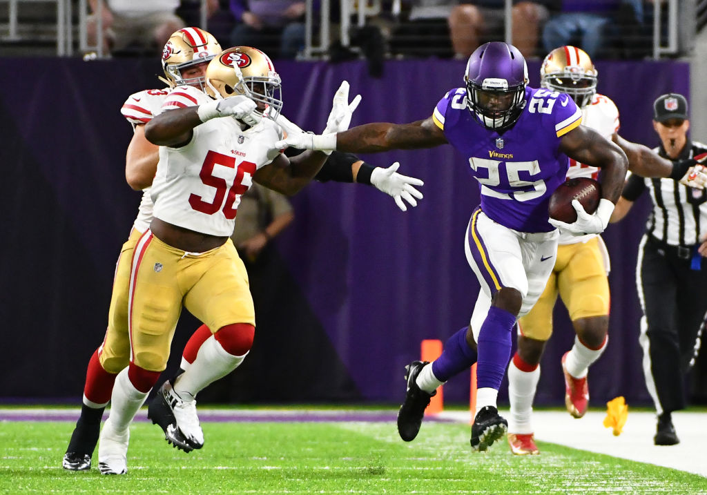 NFL: AUG 27 Preseason - 49ers at Vikings