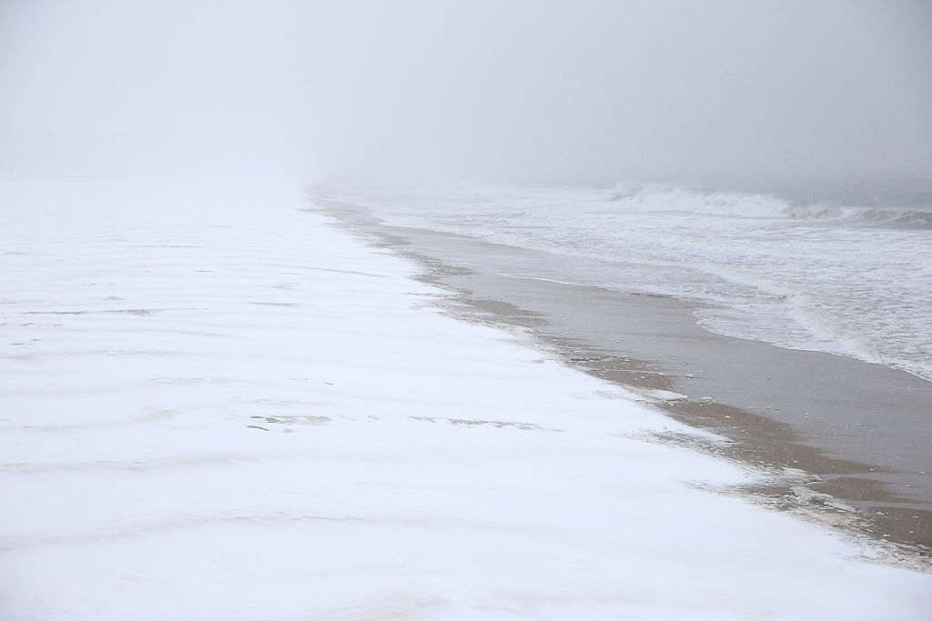 Large Storm System Brings Snow To Large Swath Of East Coast