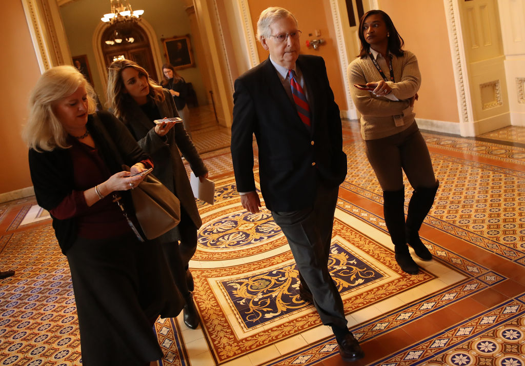 Lawmakers Work On Compromise Bills To End Partial Government Shutdown