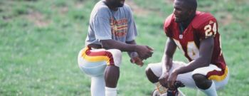Darrell Green and Champ Bailey Workout