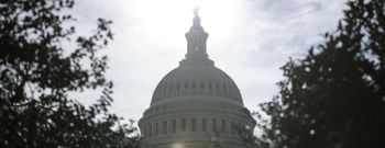 WASHINGTON, DC - JANUARY 28: The dome of the US Capitol Buildin