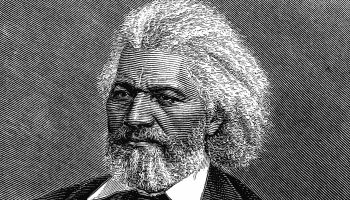 Frederick Douglass (1817-1895) American diplomat, abolitionist and writer