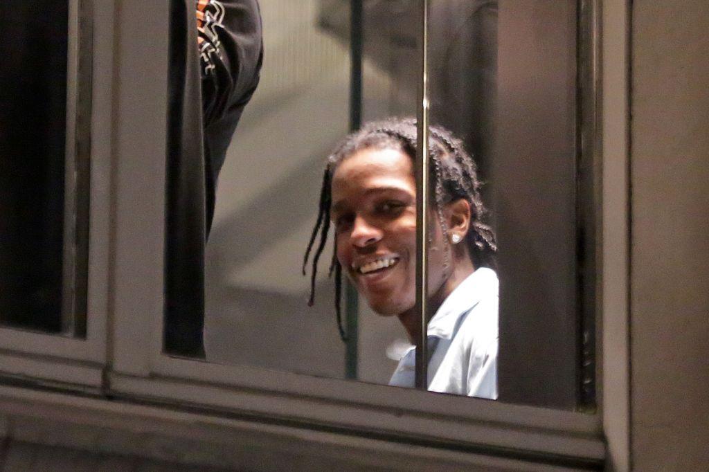 A$AP Rocky shopping in Milan