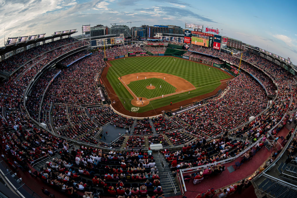 Cleveland Indians v Washington Nationals