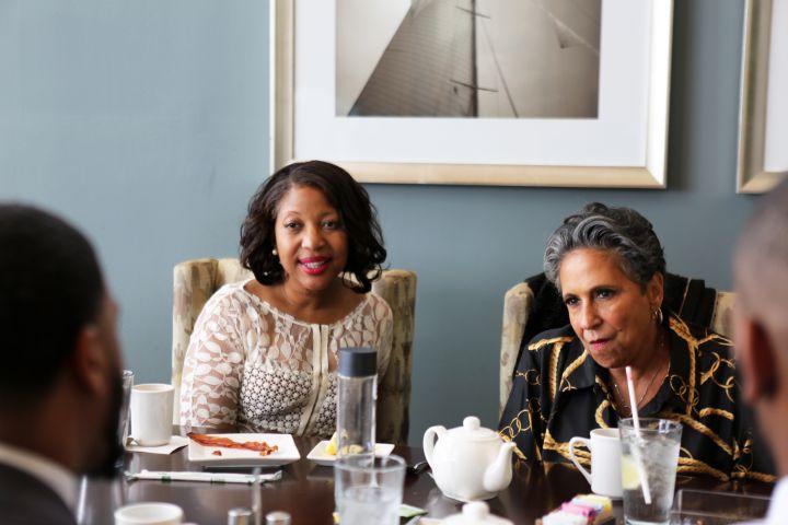 Cathy Hughes & Singer Eric Benét Attend Thurgood Marshall College Fund