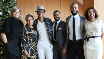 Cathy Hughes & Singer Eric Benét Attend Thurgood Marshall College Fund