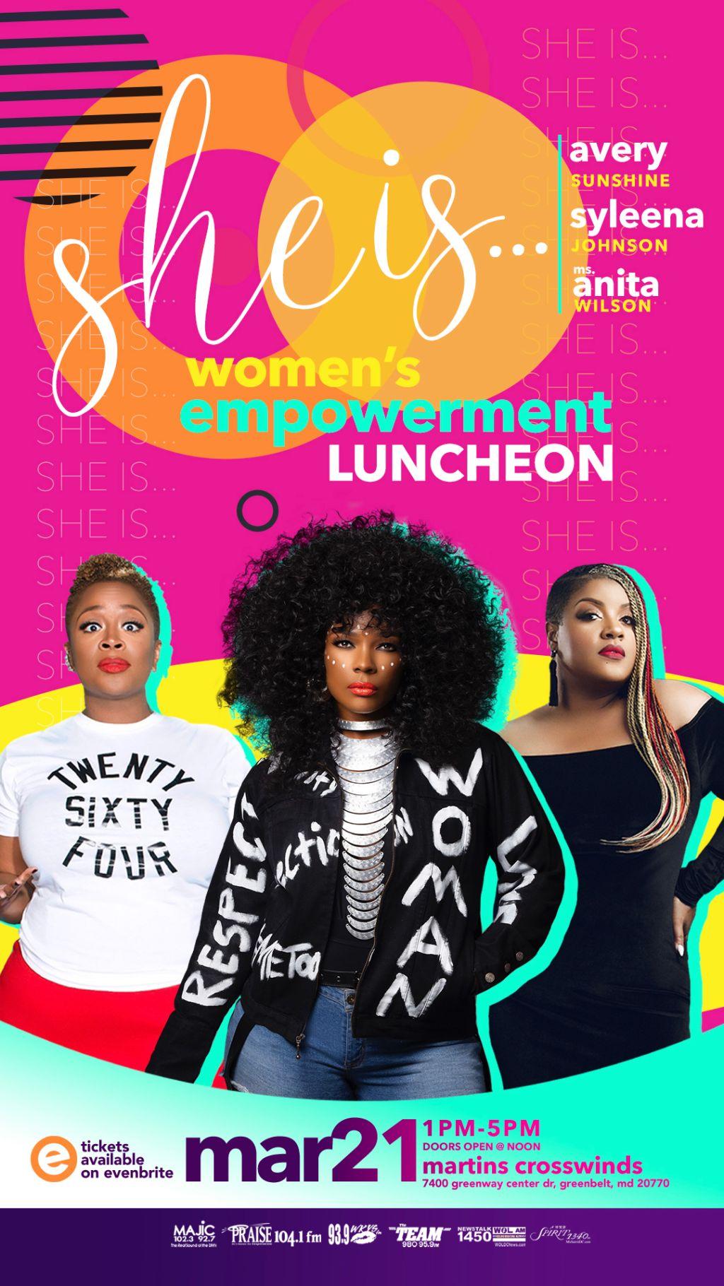 SHE IS Women's Empowerment Luncheon