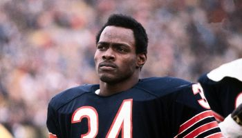 A Serious Looking Walter Payton