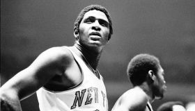 Willis Reed Of The New York Knicks