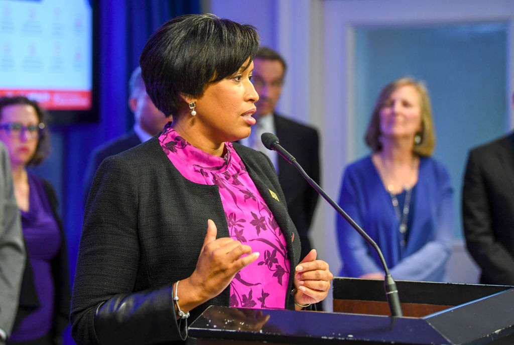 Mayor Muriel Bowser holds a press conference-providing an update on the Districts response to the coronavirus (COVID-19)